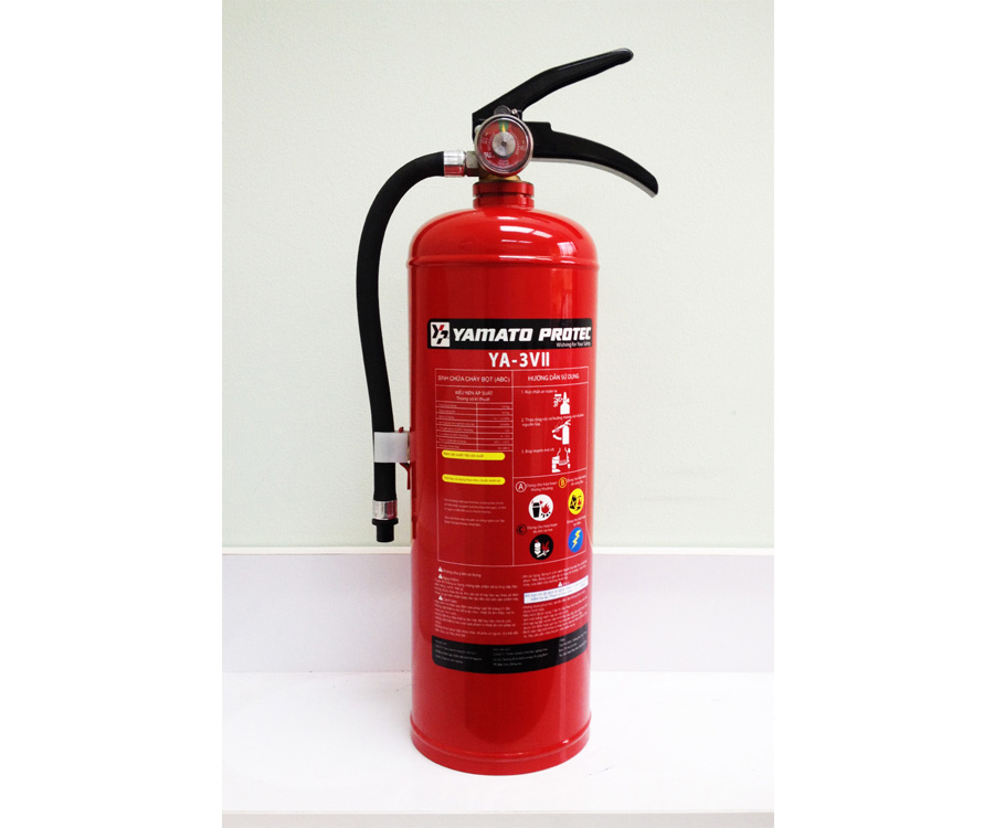DRY CHEMICAL (ABC) FIRE EXTINGUISHER 3.0KG