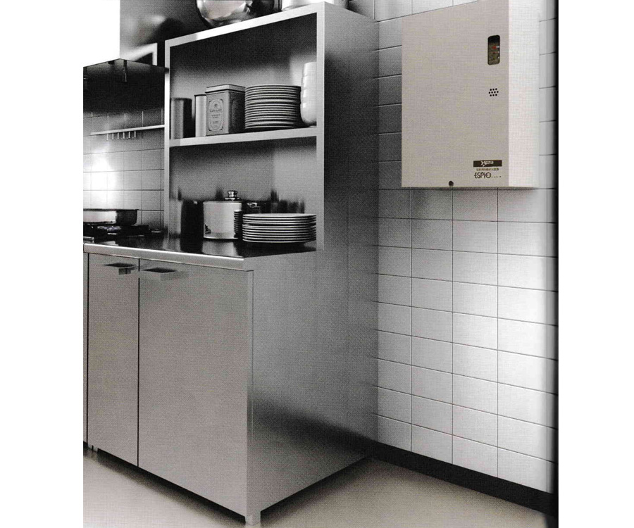 AUTOMATIC FIRE EXTINGUISHING SYSTEM FOR KITCHENS - ESPIO