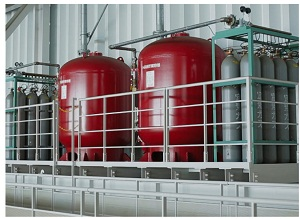 DRY CHEMICAL FIRE EXTINGUISHING SYSTEM