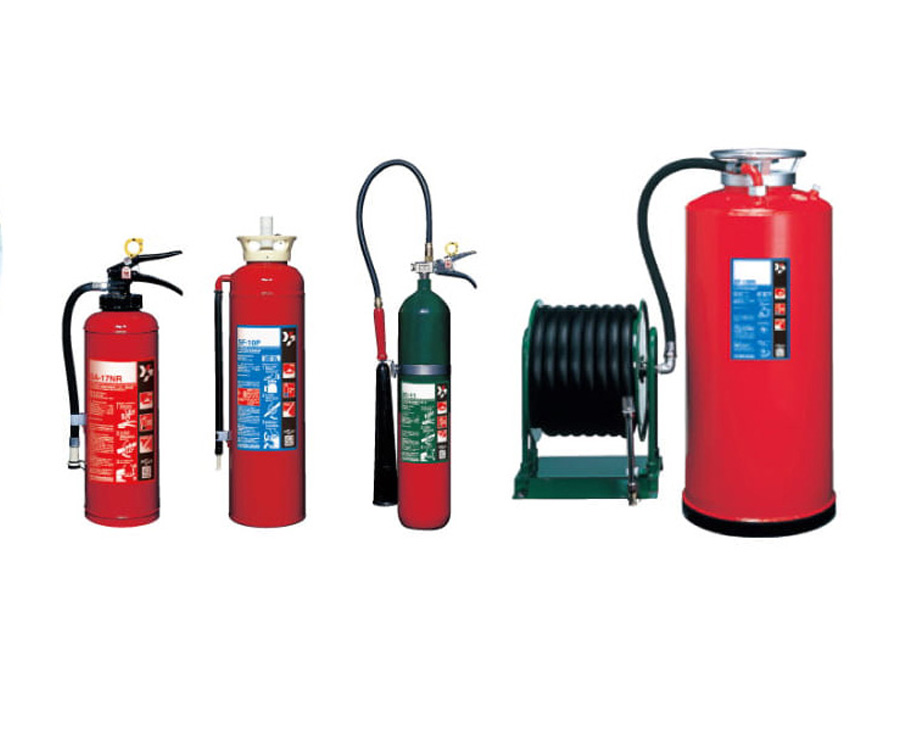 FIRE EXTINGUISHER FOR SHIPS