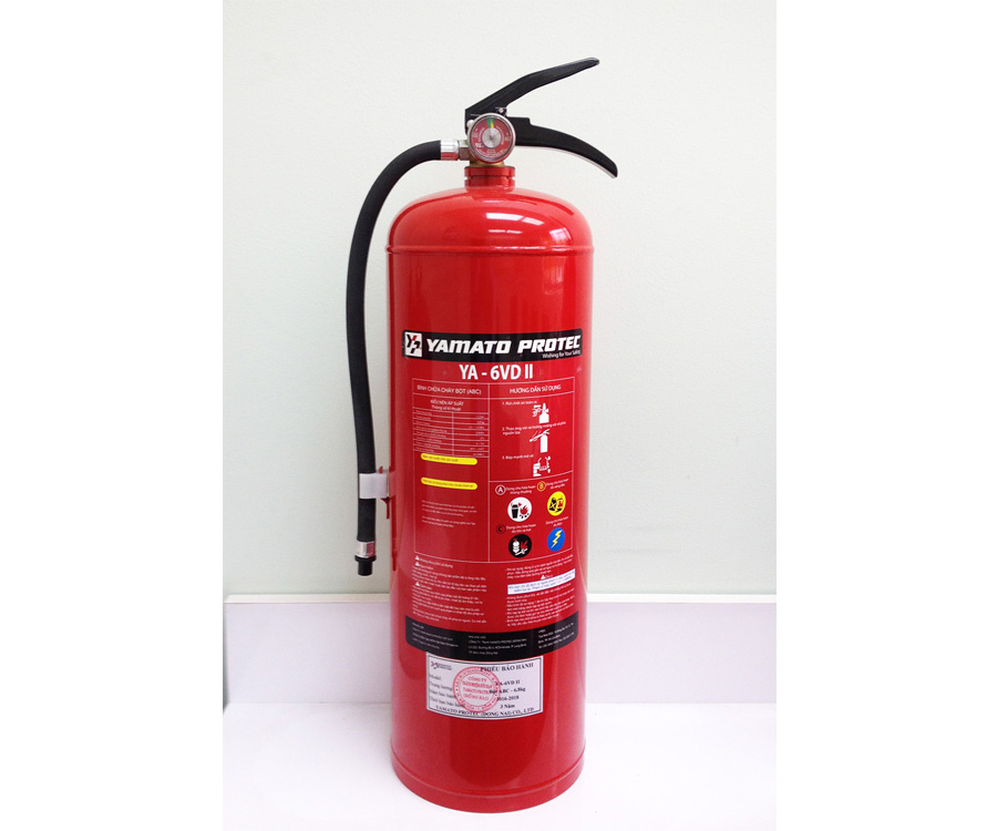 DRY CHEMICAL (ABC) FIRE EXTINGUISHER  6.8KG