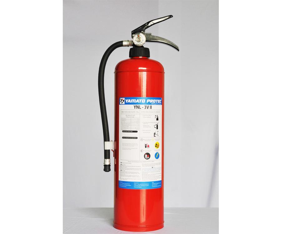 [Video] Thực nghiệm bình chữa cháy gốc nước YNL-3VII
